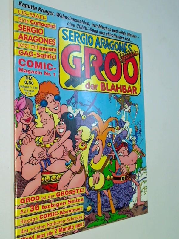 Groo Der Blahbar Nr. 1, Der Kelch..., ERSTAUSGABE 1990, Condor Comic-Magazin