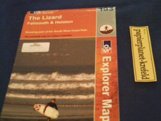 The Lizard Falmouth & Helston, 1 : 25 000 , OS Explorer Map 103