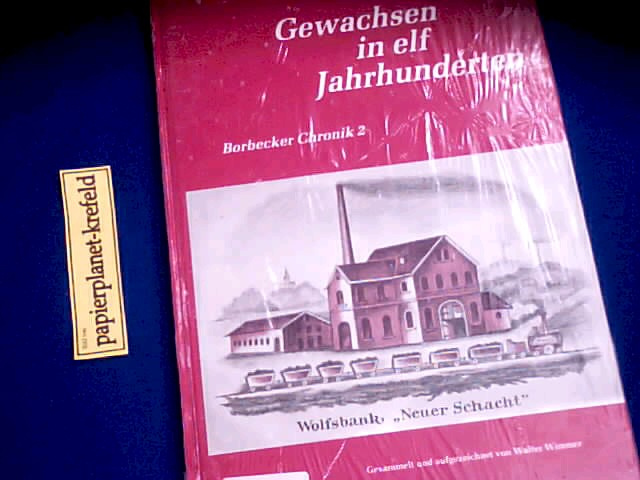 Gewachsen in elf Jahrhunderten : Borbecker Chronik Band 2, 1854-1857, Daten, Fakten, Ereignisse, Episoden, Zeitbilder und Augenzeugenberichte.
