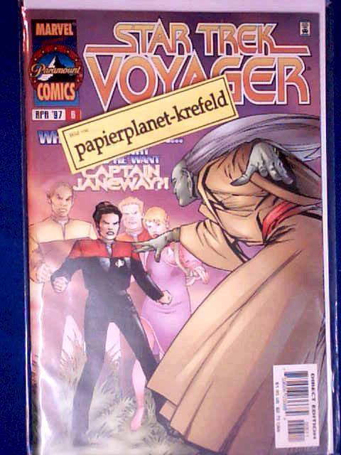 Star Trek Voyager Vol. 1 No. 6 , April 1997, Direct Edition (Marvel Paramount Comics) monthly series, Comic-Book
