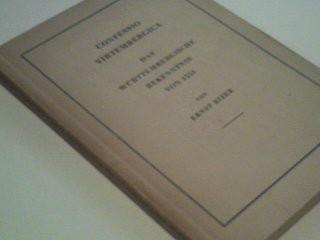 Bizer, Ernst: Confessio Virtembergica Das württembergische Bekenntnis v. 1551. Hrsg. v.