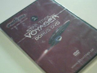 Star Trek Deep Voyager Fed Con Bonus DVD 3 , OVP
