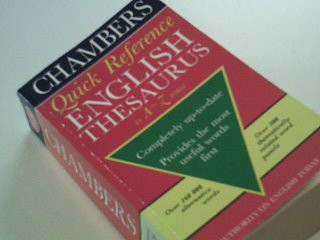 Chambers Quick Reference English Thesaurus