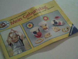 Cuno, Sabine: Mein Geburtstag : zum Basteln und Spielen. ; Kirsch & Korn