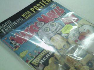 Micky Maus Heft 2011 Nr. 28 , der Roboter Hero Figur,  Transformers Megasammel-Poster, 8.7.2011, Ehapa Comic-Heft Walt Disneys