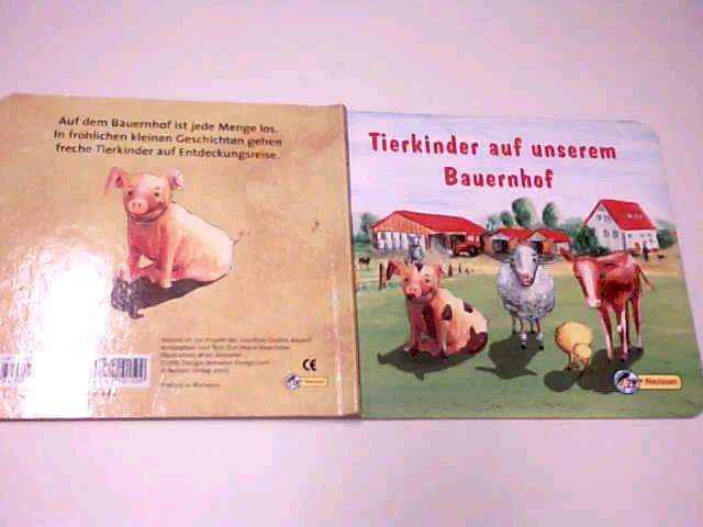 Tierkinder auf unserem Bauernhof. [Text:. Ill.: Marc Benseler], Pappbilderbuch, 9783897480636