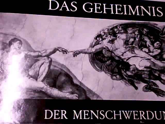 Das Geheimnis der Menschwerdung. Hrsg. unter Mitarb. v. Heinz Mergarten
