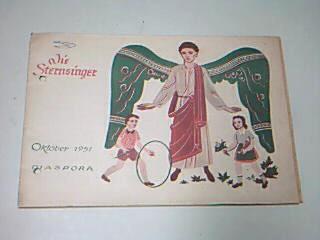 Die Sternsinger Diaspora Oktober 1951,   Zeitschrift, Heft