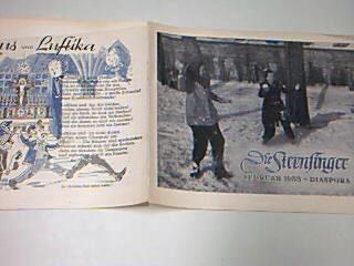Die Sternsinger Diaspora Februar 1953, mit Luftikus und Luftika,  Zeitschrift, Heft