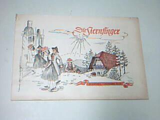 Die Sternsinger Diaspora Oktober 1953, mit Luftikus und Luftika,  Zeitschrift, Heft