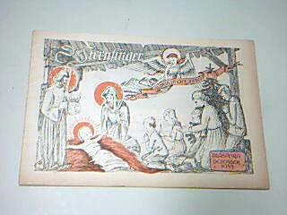 Die Sternsinger Diaspora Dezember 1953, mit Luftikus und Luftika,  Zeitschrift, Heft