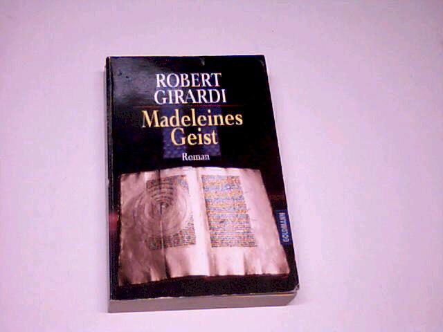 Madeleines Geist : Roman. Goldmann 43966. 3442439663. Genehmigte Taschenbuchausg.