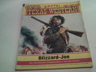 Texas-Western 292 Blizzard-Joe ,  Bastei Western Roman-Heft