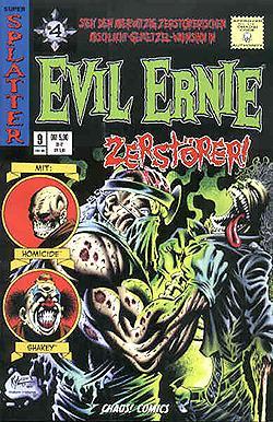 Evil Ernie Bd. 9 ,  Nostalgie Variant-Cover,  Feb. 1999 , Chaos ! Comics Comic-Heft, DEV