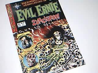 Pulido, Brian, Kyle Hotz und Tim Bradstreet: Evil Ernie 12 , Zerstörer Teil 7,  Nostalgie Variant-Cover, Märt 1999, Chaos ! Comics, Comic-Heft DEV