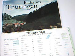 Bilder aus Thüringen. mit Beilage-Karte ; 3877765335