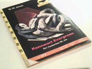 Fledermaus Nr. 273 Kennwort Evergreen, Pabel Kriminal-Roman,  Roman-Heft.