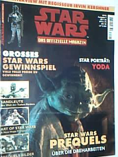 Star Wars - das offizielle Magazin Nr. 7  Star Portät: Yoda, 8.10.1997