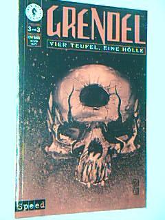 Grendel Bd. 3 von 3 Vier Teufel, eine Hölle , Speed Dark Horse Comics, Prestige Format
