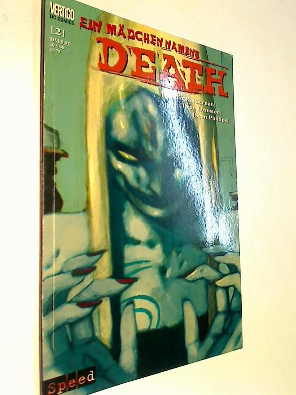 Ein Mädchen namens Death Teil 2 von 2 , Speed Vertigo DC Comics , Prestige Format ; Zeichn. von Dean Ormston