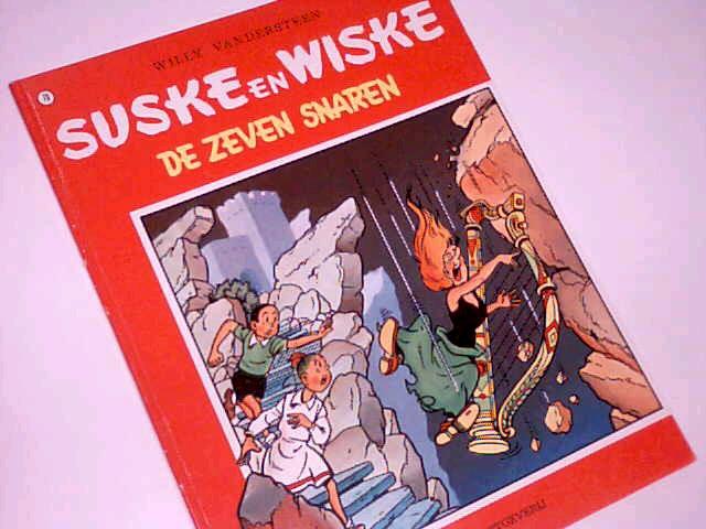 Vandersteen, Willy: Suske en Wiske 79 De Zeven Snaren , Comic Album ; 9002117817