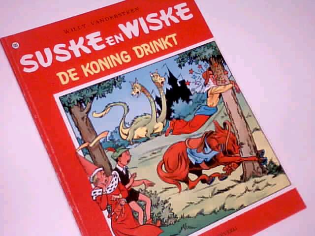 Vandersteen, Willy: Suske en Wiske 105 De Koning Drinkt, Comic Album ; 9002111762