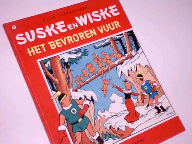 Vandersteen, Willy: Suske en Wiske 141 Het Bevroren Vuur, Comic Album ; 9002122403