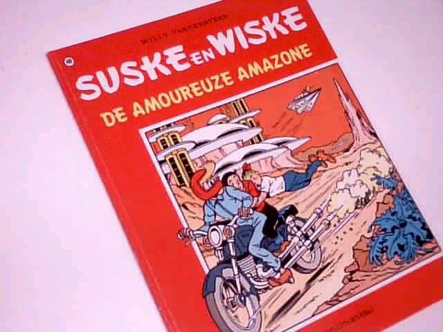 Vandersteen, Willy: Suske en Wiske 169 De Amoureuze Amazone, Comic Album ; 9002138741