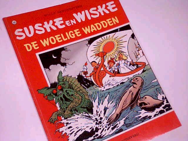 Vandersteen, Willy: Suske en Wiske 190 De Woelige Wadden, Comic Album ; 9002145802