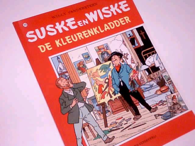 Vandersteen, Willy und Paul  Geerts: Suske en Wiske 223 De Kleurenkladder,  1. Auflage 1990, Comic Album ; 9002163509