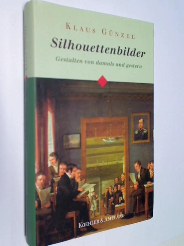Silhouettenbilder : Gestalten von damals und gestern. 3733803167