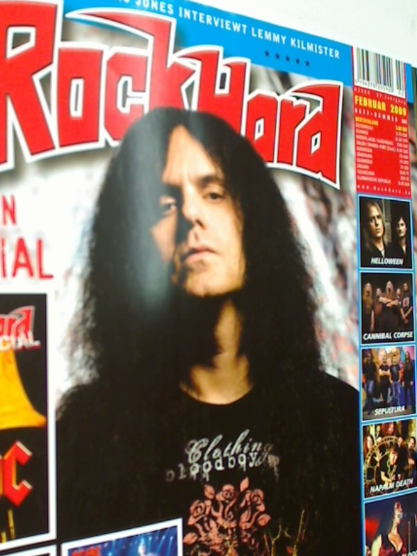 Rock Hard Heft 261, 2009 Nr. 2 Kreator-Cover, ACDC Special,  21.01.2009, Musik-Magazin