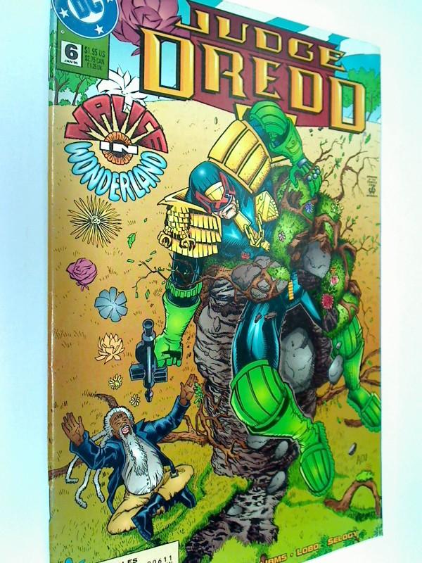 Judge Dredd 6 ,Malice in Wonderland, Jan  1995,  US DC Comic-Heft