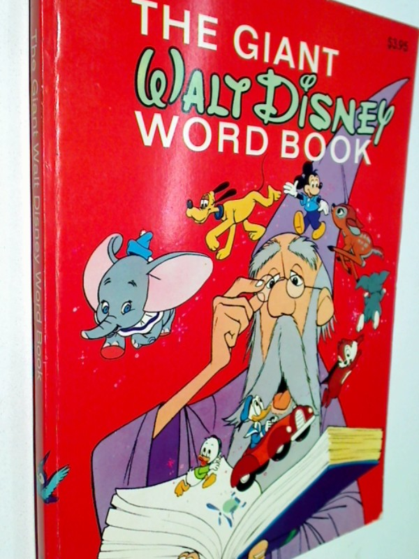 The Giant Walt Disney Word Book ; 0307158004