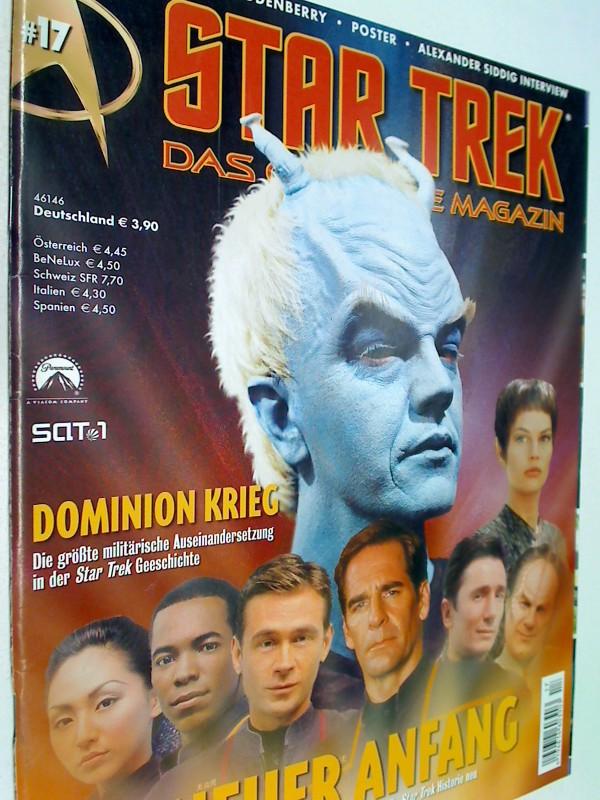 Star Trek Das offizielle Magazin 17 Dominion Krieg, 13.3.2002,  mit  Poster