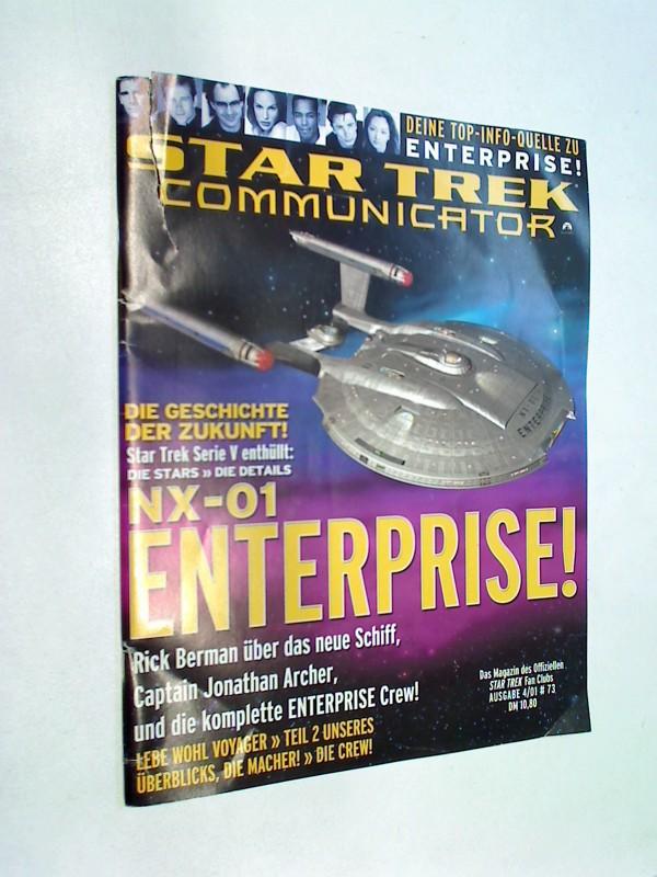 Star Trek Communicator 73 NX-01 Enterprise Cover  - Offizieller Star Trek Fan Club Magazin
