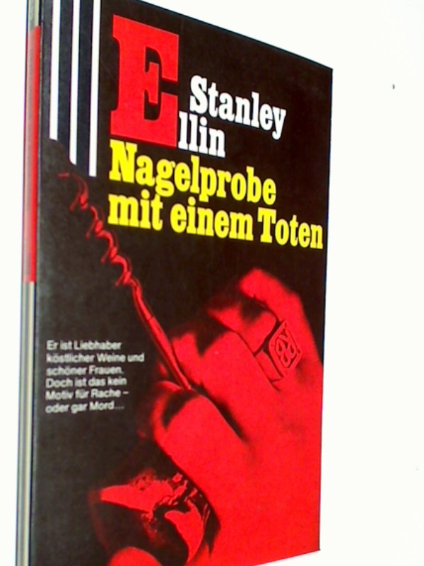 Nagelprobe mit einem Toten. Scherz classic krimi 683, 1. Auflage 1978,