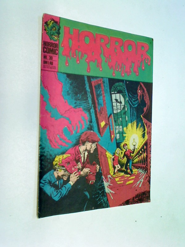 Horror Comic 39 Momentaufnahme ! BSV Williams DC Comic-Heft