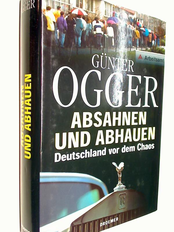 Absahnen und abhauen. Deutschland vor dem Chaos, 3426270102, 9783426270103