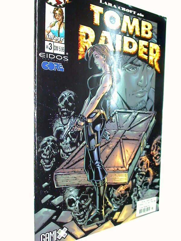 Lara Croft als Tomb Raider 3,  25.10.2001, MG Top Cow Image Comics.  Comic-Heft, 4395500805955
