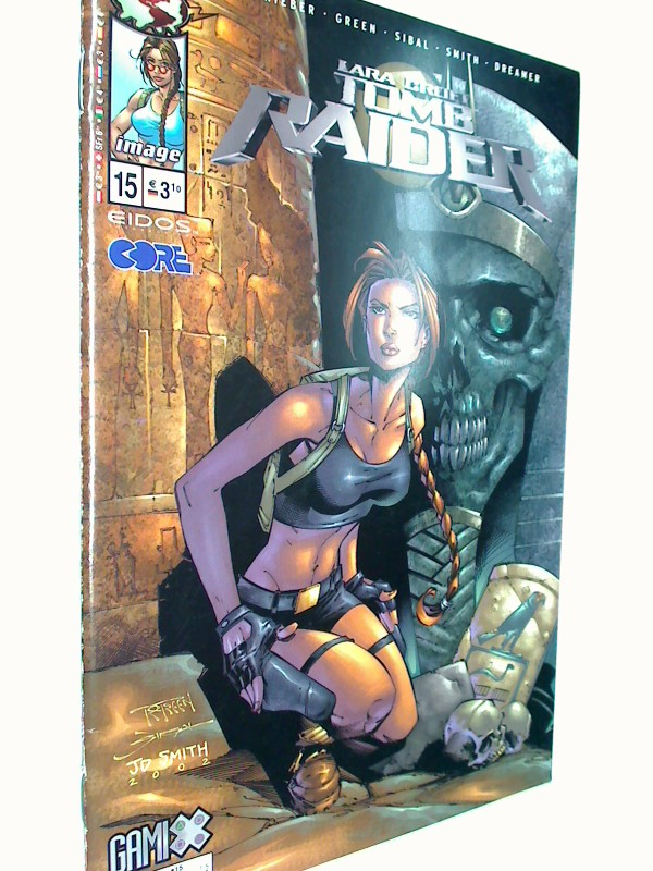 Rieber, John Ney und Randy Green: Lara Croft Tomb Raider 15, 29.10.2003, MG Top Cow Image Comics.  Comic-Heft, 4195500803100