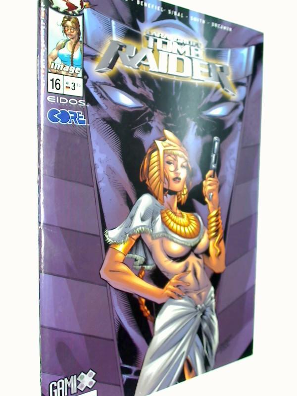 Rieber, John Ney: Lara Croft Tomb Raider 16, 17.12..2003, MG Top Cow Image Comic-Heft, 4195500803100