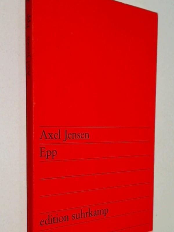 Epp : Erzählung. edition suhrkamp 206, 1. Auflage 1967
