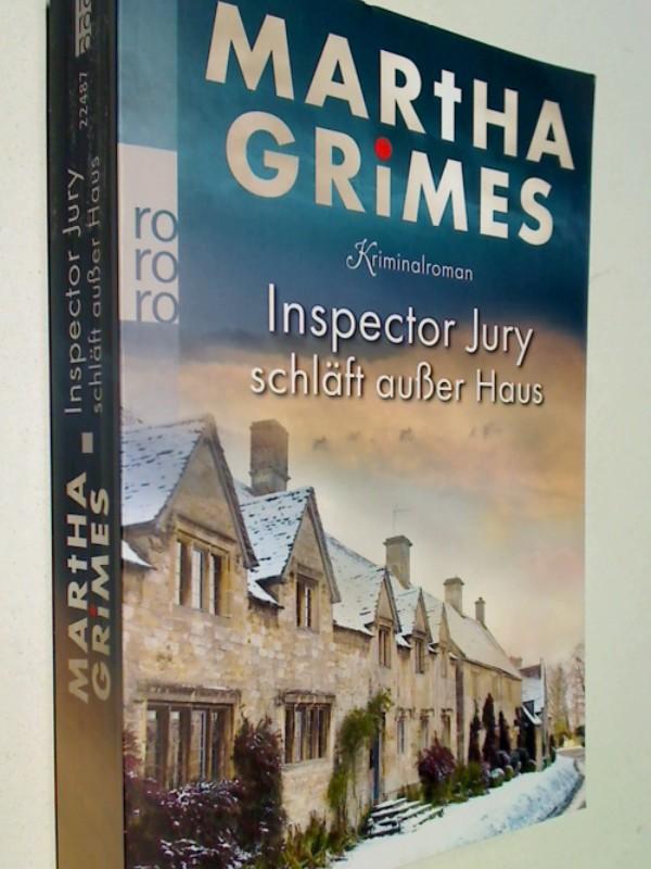 Grimes, Martha und Uta Goridis: Inspector Jury schläft außer Haus rororo 22487, Krimi, Neuausgabe  ; 9783499224874