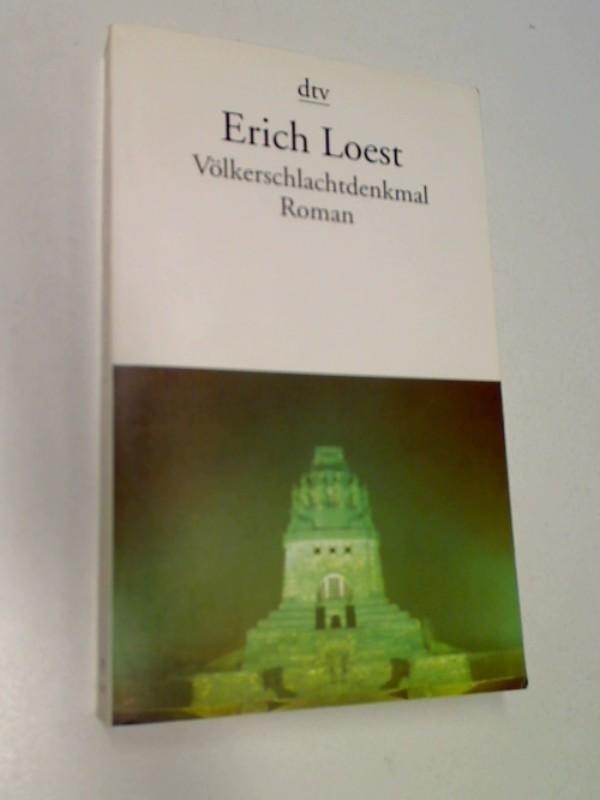 Völkerschlachtdenkmal : Roman , dtv 12533 ; 3423125330