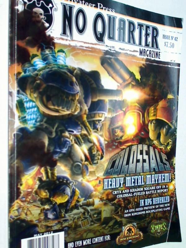 No Quarter Magazine: Issue 42 Colossals,  May 2012 ( Warmachine) 875582007583