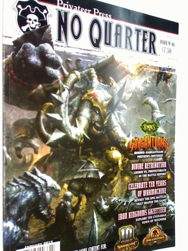 No Quarter Magazine: Issue 46 , Jan 2013 ( Warmachine)  875582007620