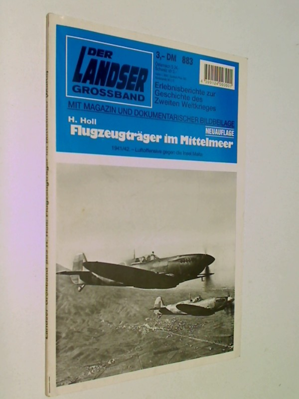 Der Landser Grossband 883 Flugzeugträger im Mittelmeer Pabel Roman-Heft