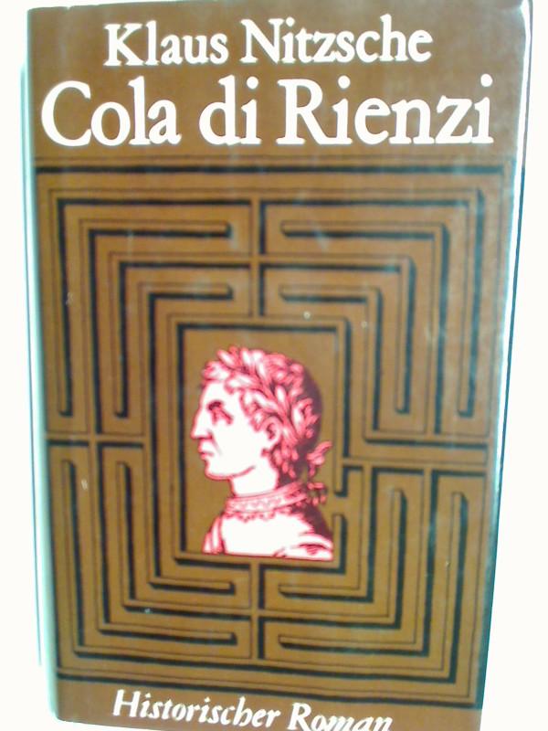 Cola di Rienzi : histor. Roman.