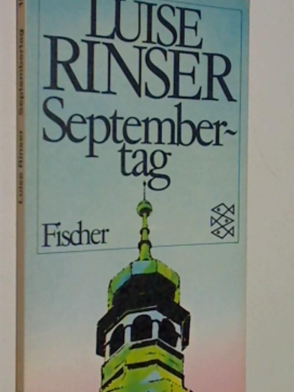Septembertag. Fischer-Taschenbücher 1695 , 3596216958